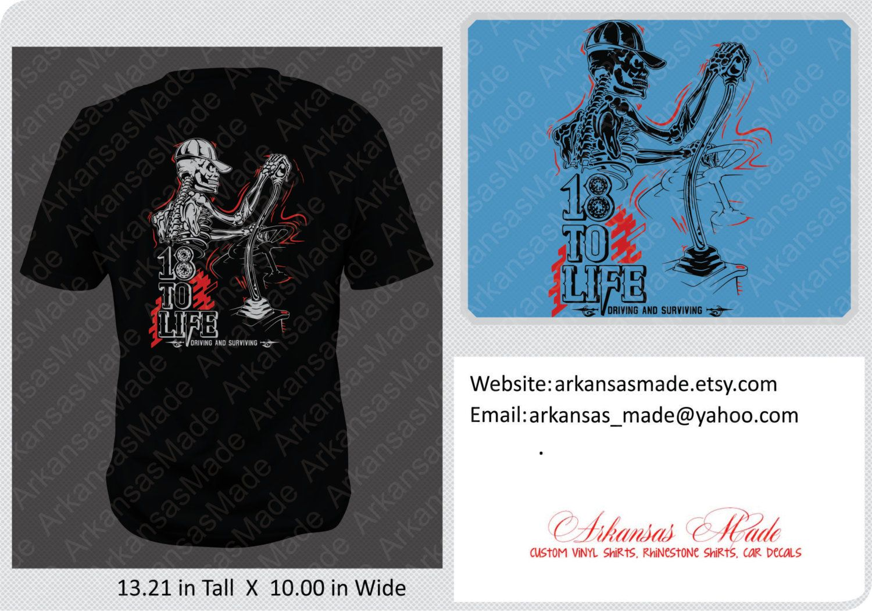 695be7218 18 to life trucker shirt, skeleton truck driver shifting gears, skeleton,  18 wheeler shirt, semi Truck driver shirt, trucker shirt. - pinned by  pin4etsy.com