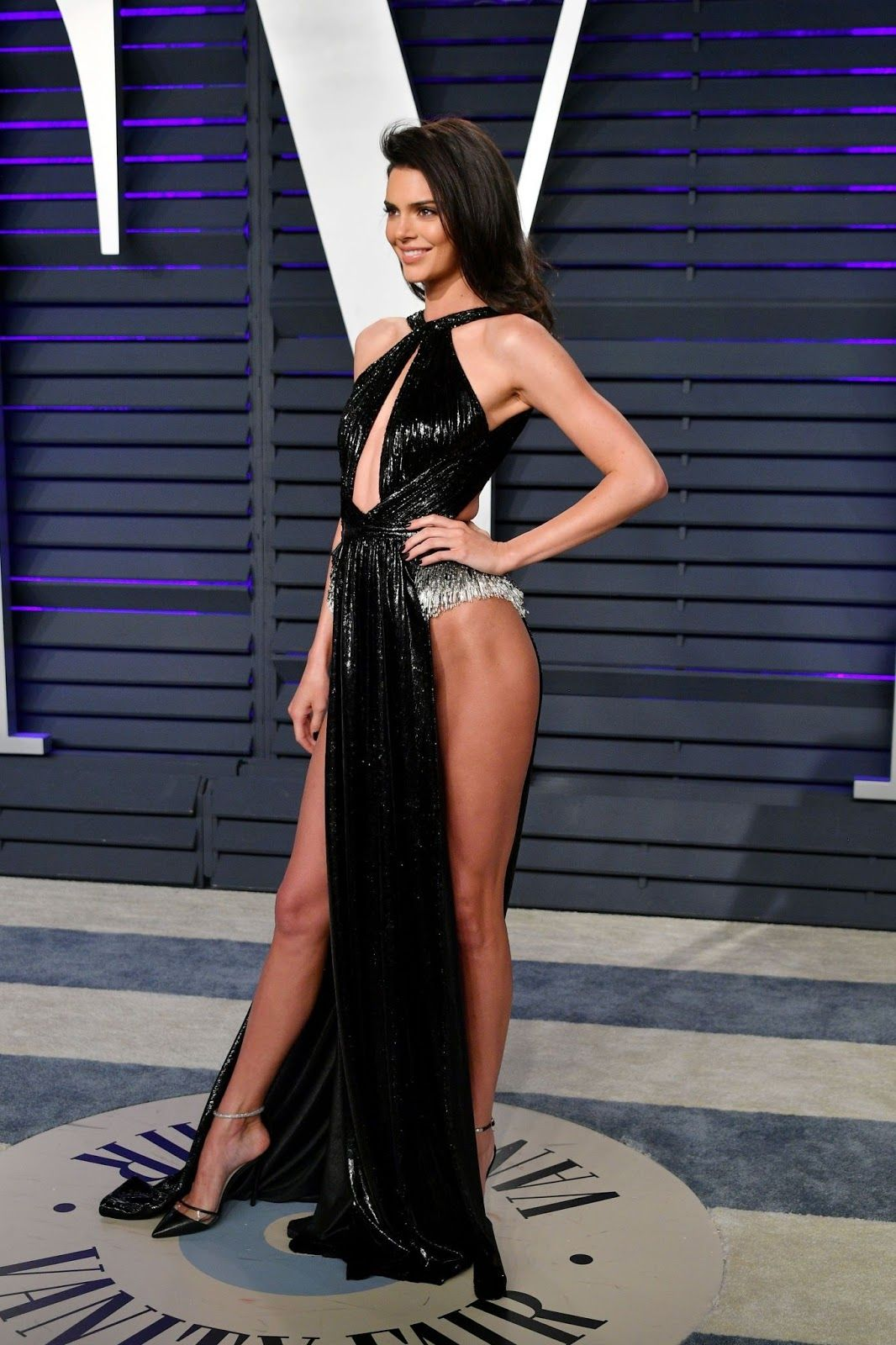 Kendall Jenner 2019 Vanity Fair Oscar Party In Beverly