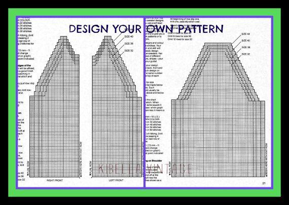 Cowichan Sweater Knitting Pattern Buffalo Wool Design Your Own ...
