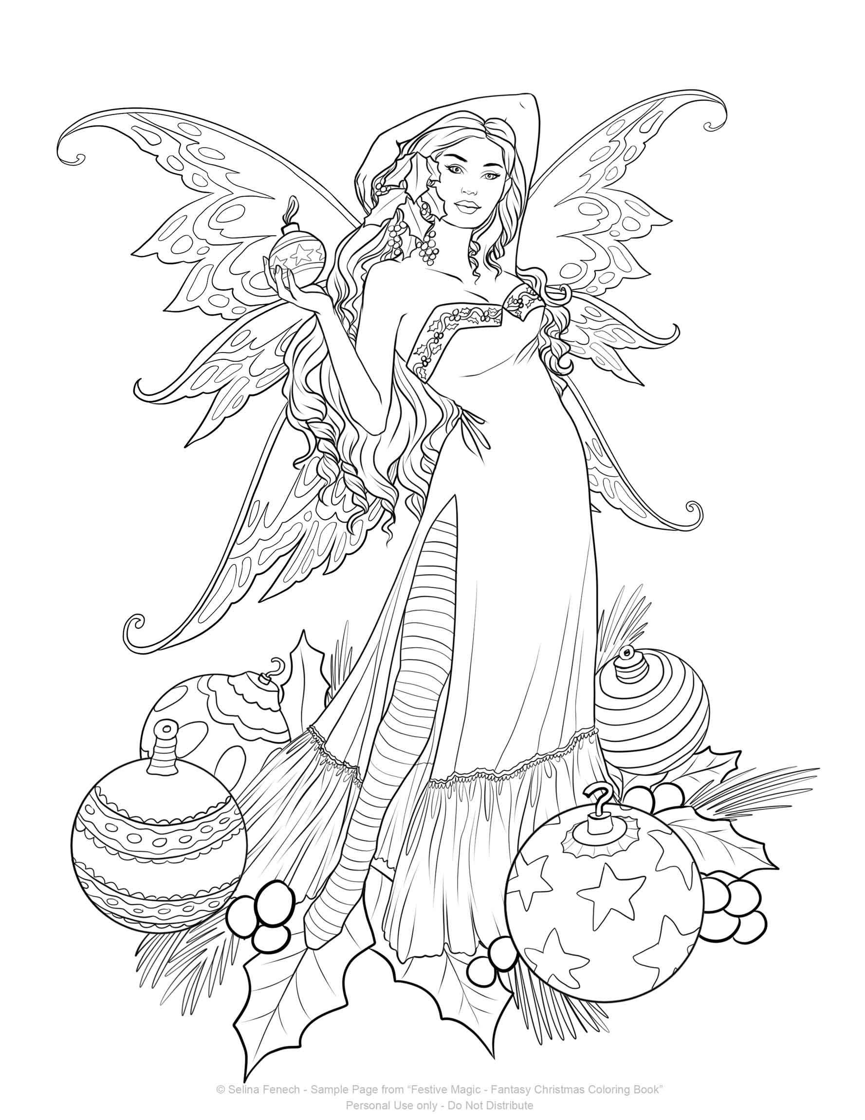 image result for selina fenech festive magic fantasy christmas coloring images selena fenech. Black Bedroom Furniture Sets. Home Design Ideas