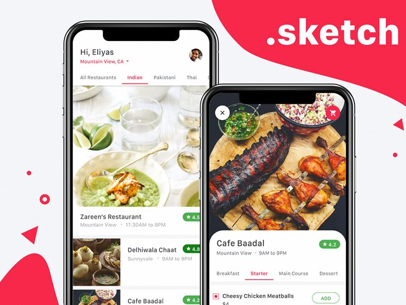 Food Delivery App Concept Food App Food Delivery Free Food