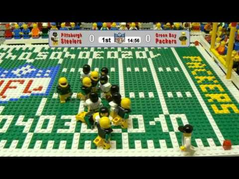 We think this is pretty neat! Lego NFL Super Bowl : Packers vs ...