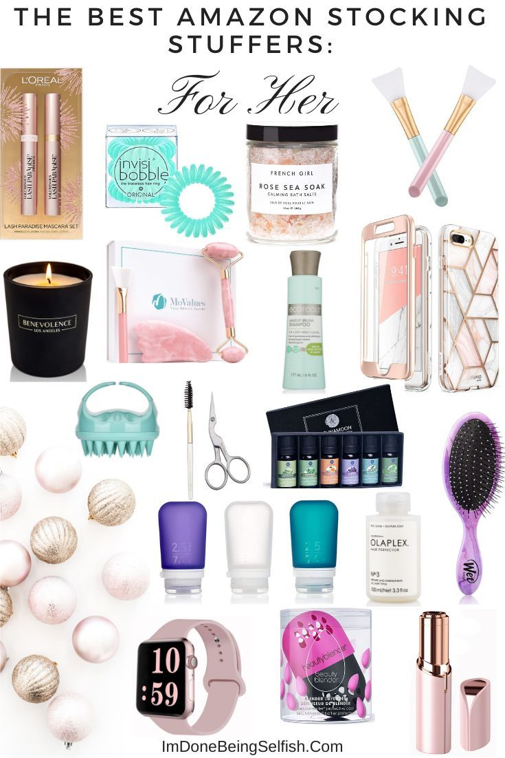 The Best Amazon Stocking Stuffers For Her Stocking Stuffer Gift Guides Holiday Stocking Stuffer Stocking Stuffers For Her