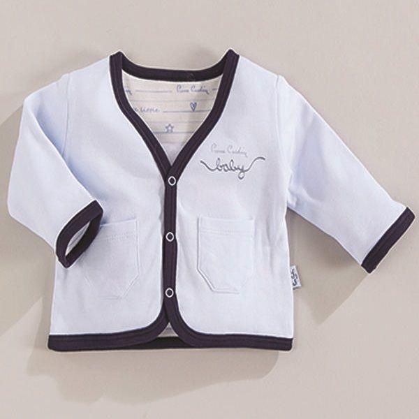 Pierre Cardin Baby Cift Kat Penye Ceket Mavi I Want Sew For Baby