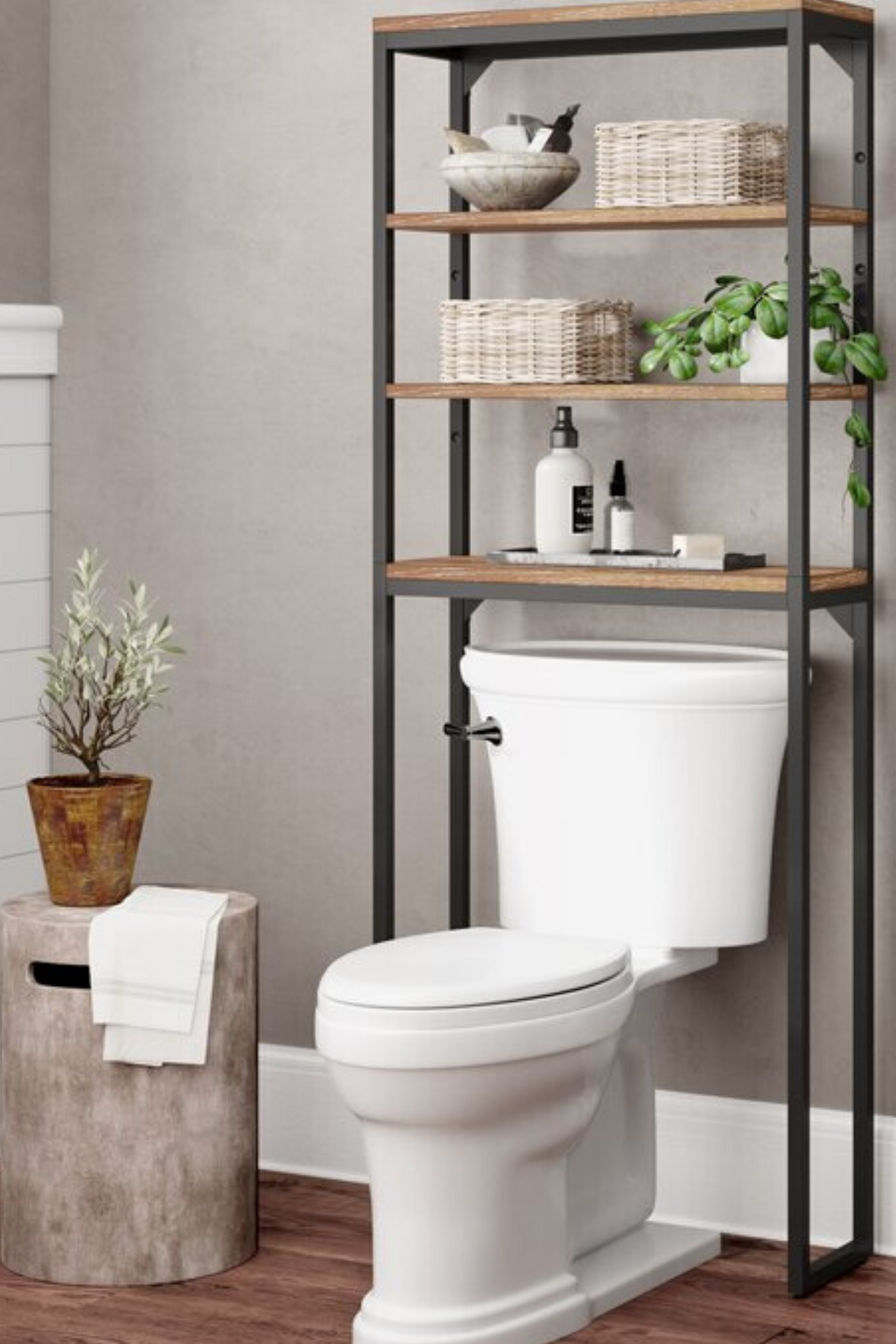 Finding Bathroom Storage For A Small