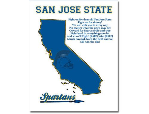 football, spartans, and san jose state image