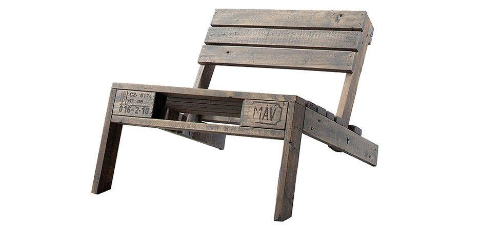 Paletten Stuhl - Grau von kimidori | MONOQI