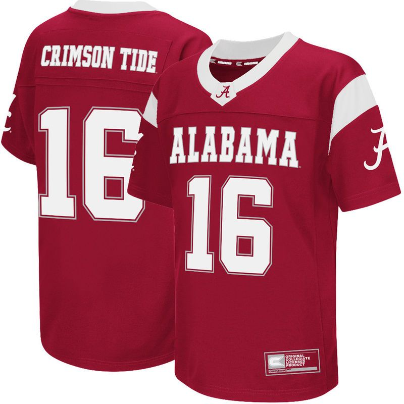 competitive price 5d22b 49d4a 16 Alabama Crimson Tide Colosseum Youth Football Jersey ...