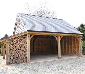 Oak Framed Garages and Timber Outbuildings