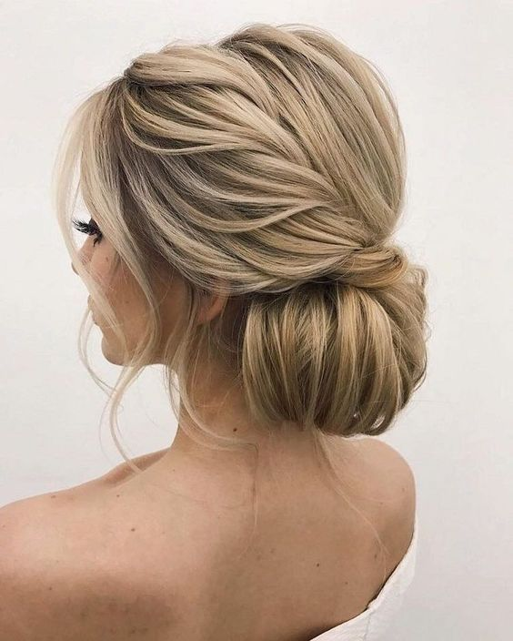20 Beautiful Wedding Updo Hairstyles Medium Length Hair Styles Medium Hair Styles Hair Styles