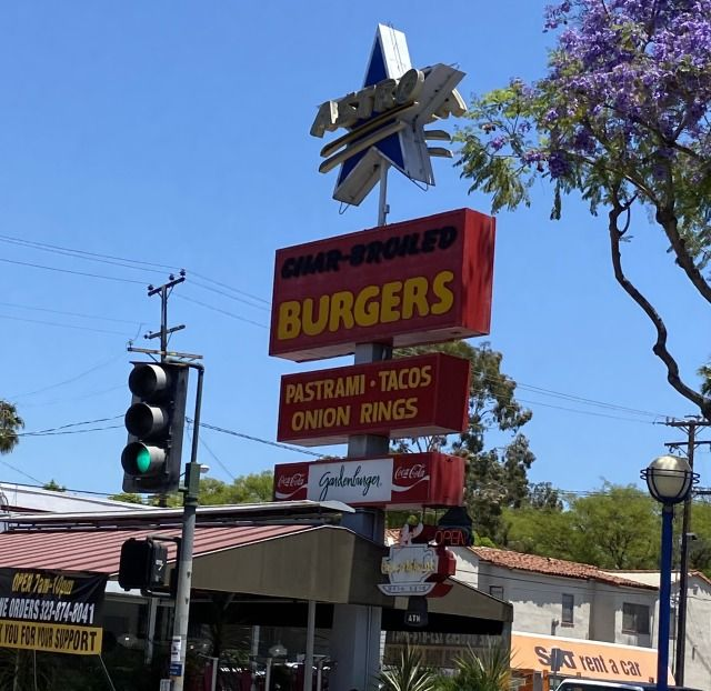 If you're looking for a great burger, fries and onion rings, visit Astro Burger on Santa Monica Boulevard in West Hollywood. If taking the Paramount Studios Tour, you can also visit their Melrose...