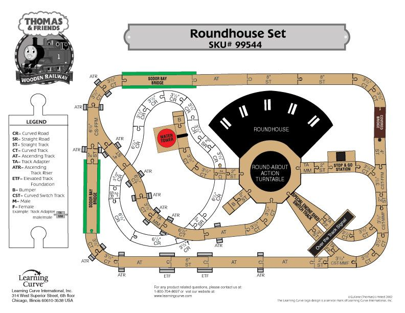 Thomas The Tank Roundhouse 99544 Layout Playroom Pinterest