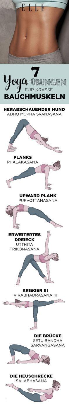 7 Yoga-Übungen, die für mehr Bauchmuskeln sorgen  ELLE