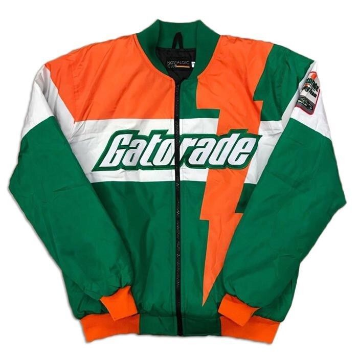21d4e2e18d9be2 Men Gatorade Jacket Green and White  fashion  clothing  shoes  accessories   mensclothing  coatsjackets (ebay link)