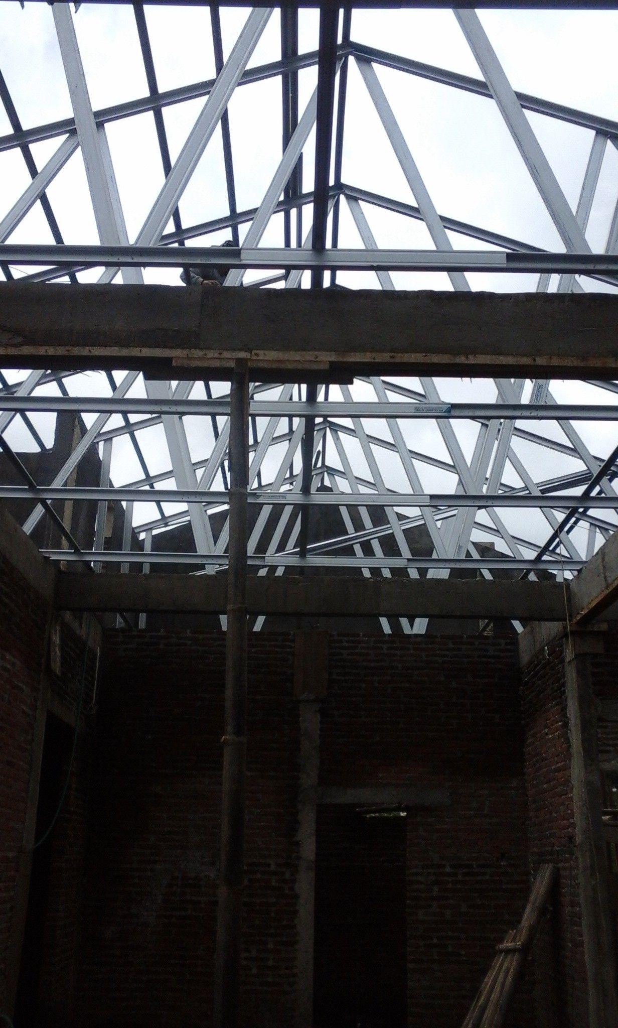 atap baja ringan ciledug pin oleh tukang bangunan cirebon 085316 di kanopi