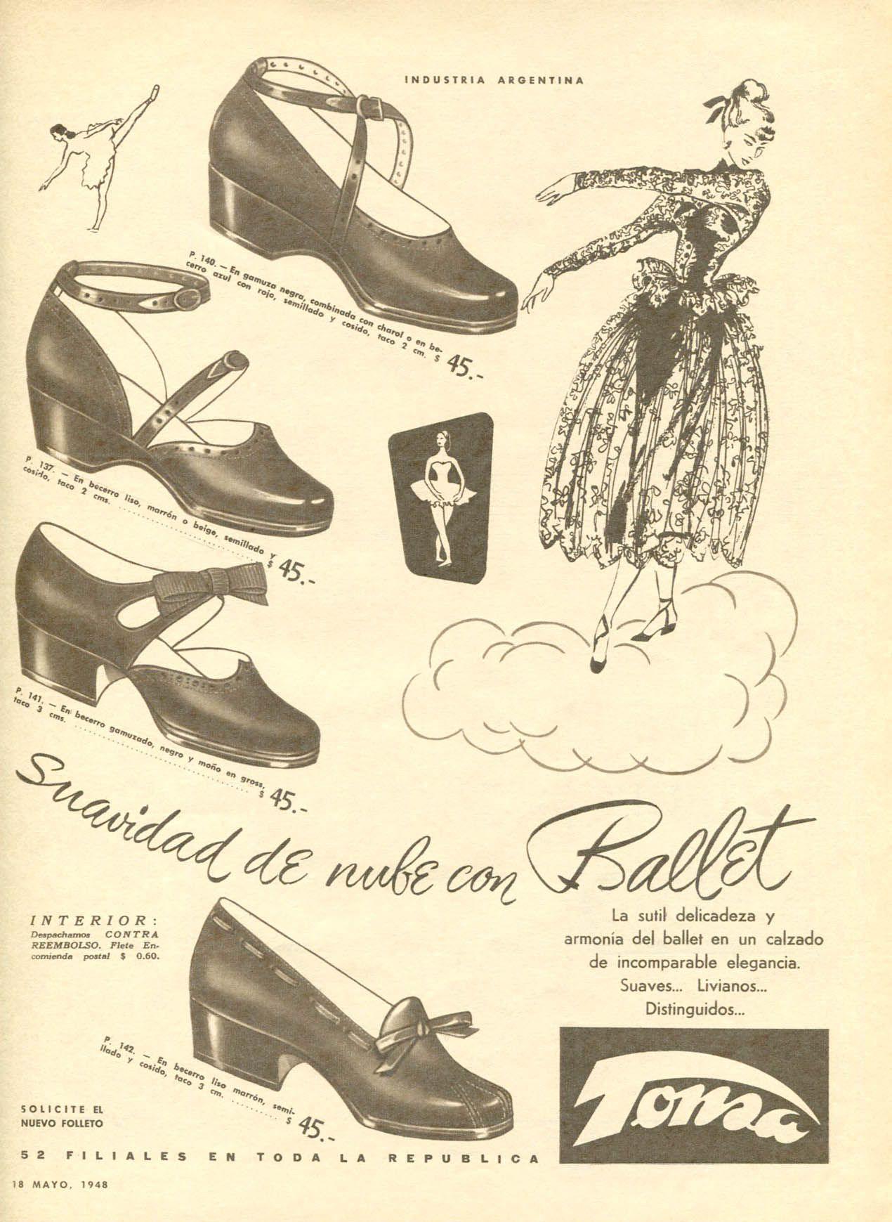 1948 TONSA shoes Argentina (Para Ti mag)