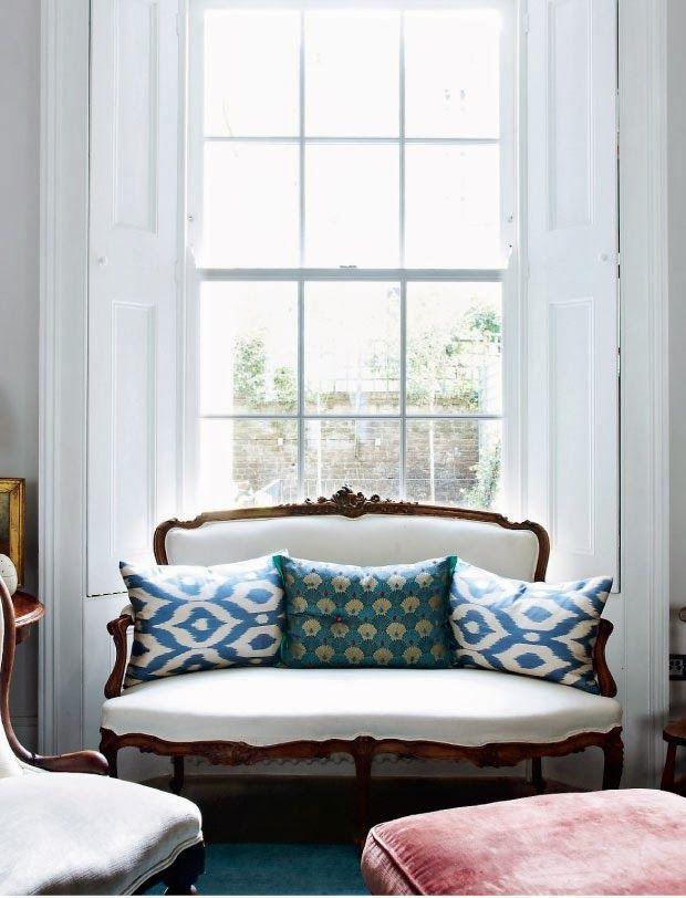 Interior: home of a fashion advisor Trinny Woodall - Seaofgirasoles