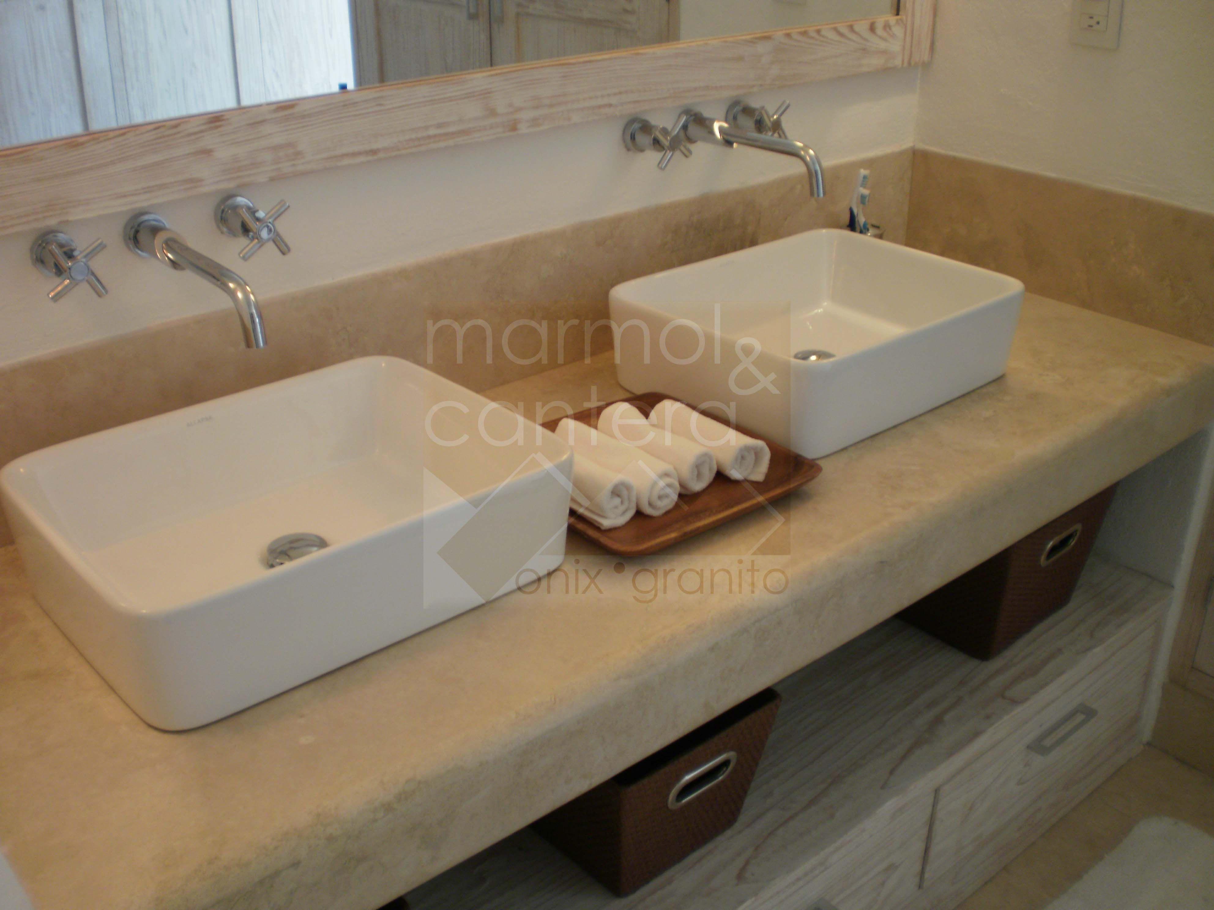 Fabricamos tu cubierta de ba o a la medida whatsapp for Precio encimera marmol
