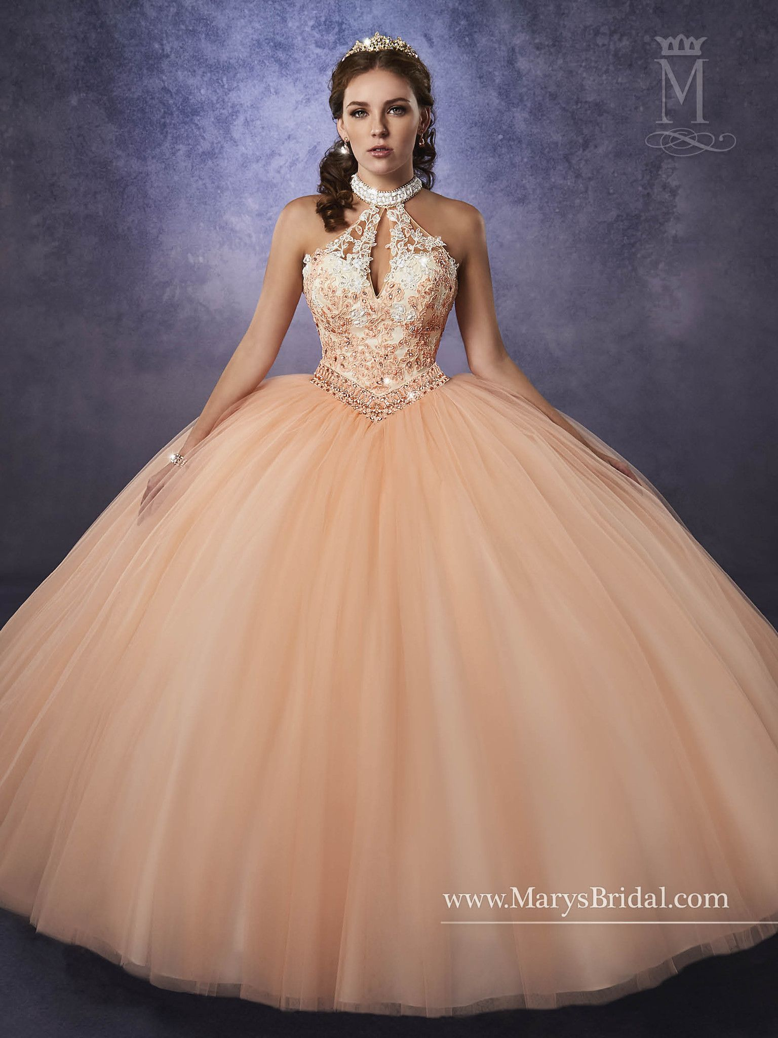 8ba933049dc77 Elegant and beautiful, you'll love wearing Mary's Bridal Princess  Collection Quinceanera Dress Style 4Q487 at your Sweet 15 party or at any  formal event.