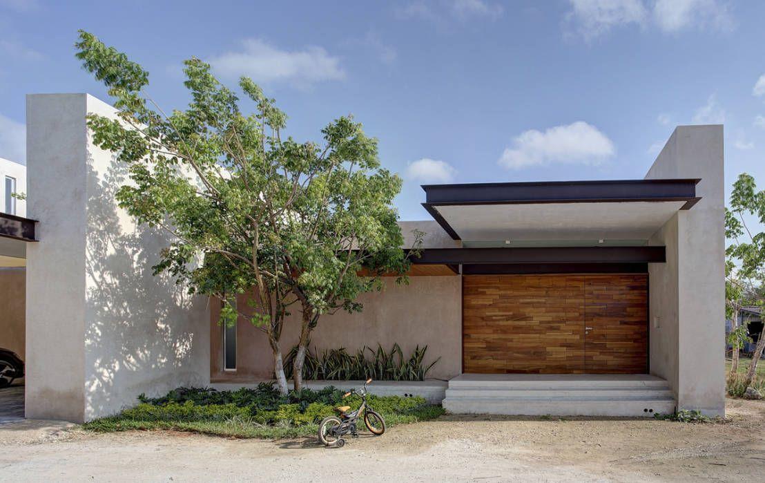 5 casas peque as y modernas en m xico pinterest for Casas modernas en mexico