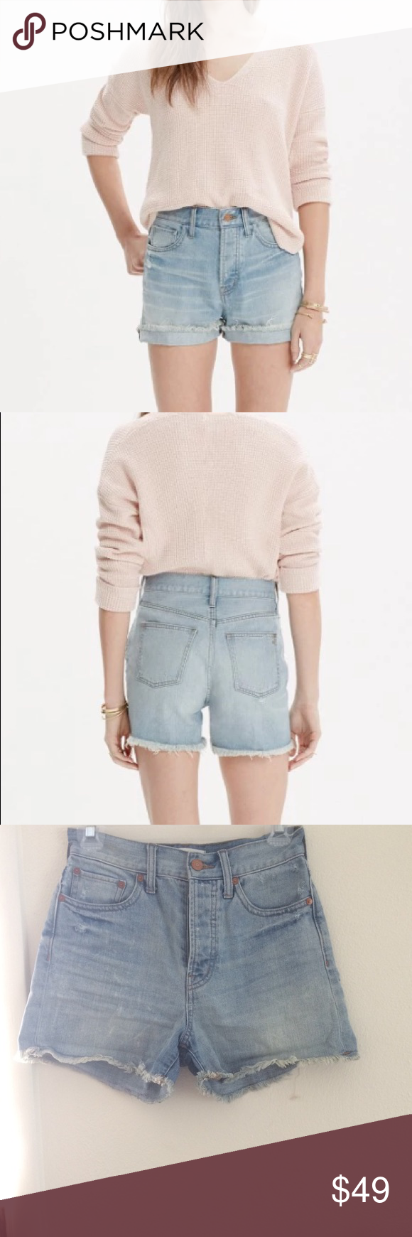 496626a195 Madewell the perfect summer short We remade our summer jeans as a  just-right pair