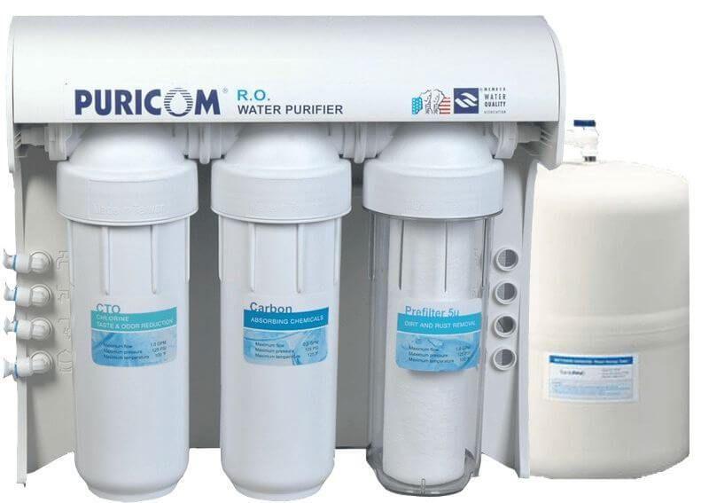 فلتر مياه بيوركم 7مراحل Puricom Ce 4 Water Pictures Water Purifier Water Park