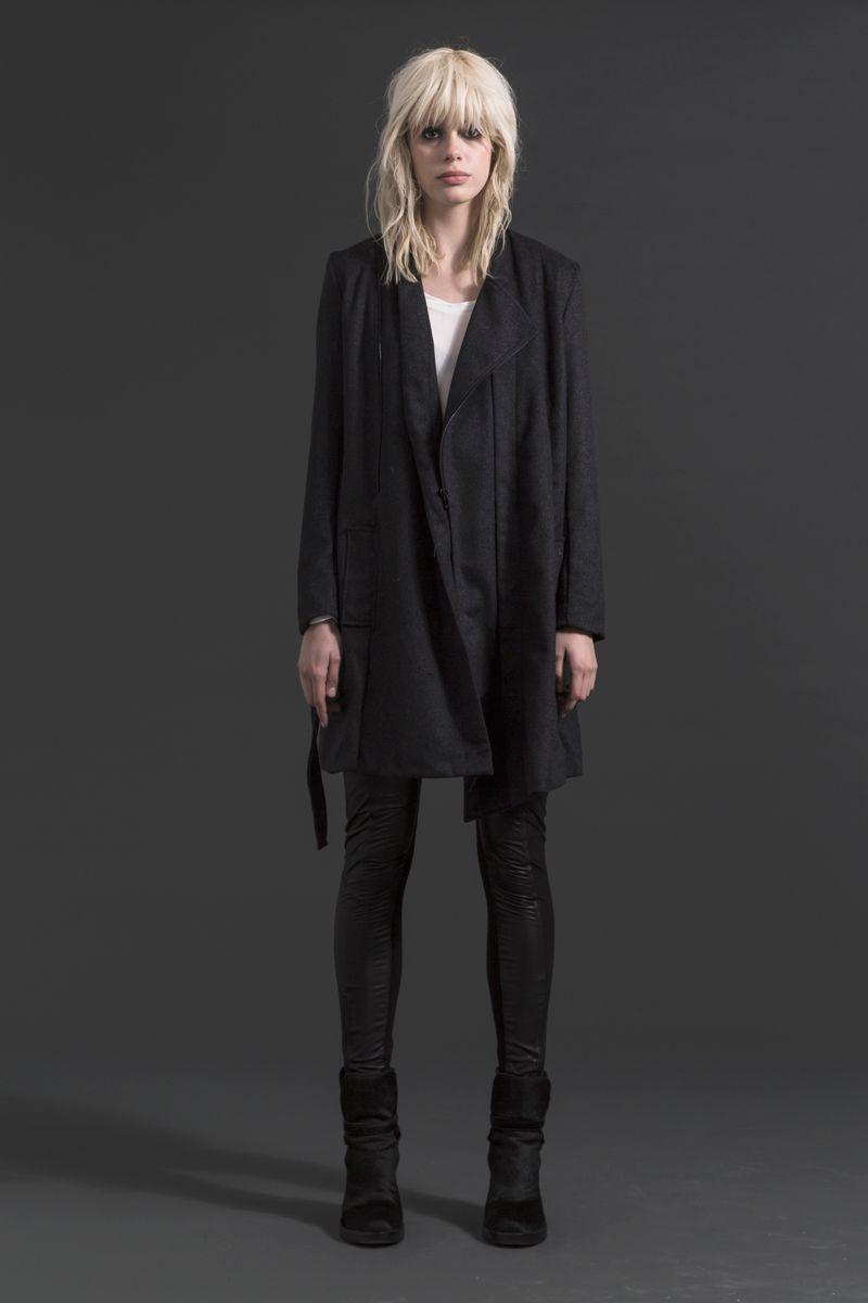 Nighthawk Coat | Gunrunner Skinnies  #wool #coat #winter #fashion #companyofstrangers