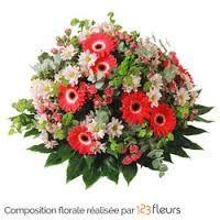 Resultat De Recherche D Images Pour Coussin Deuil Fleurs Rouge