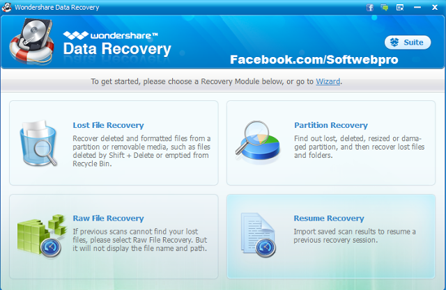 Wondershare Data Recovery Is A Program Designed To Restore