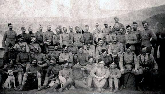 http://www.britishbattles.com/north-west-frontier-india/black-mountain.htm… British Officers Black Mountain Expedition 1st October 1888