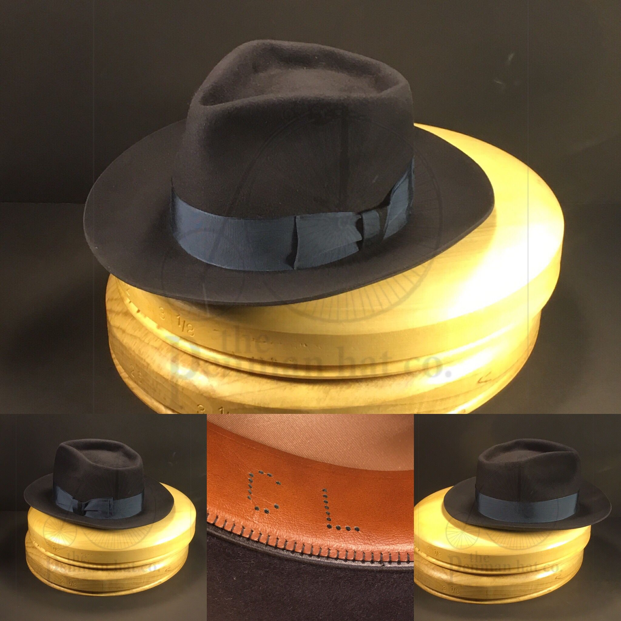 56499d14467c8 Just finished this for the lovely and talented  caitylotz How do you think  she will look in this 6 point diamond creased fedora   OnlyPenman   penmanhats ...