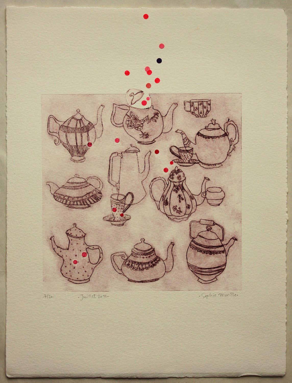 Original print etching - Sophie Morille