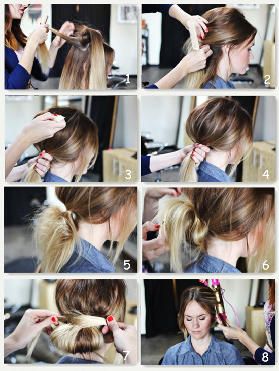 Brown Hair Extensions Can Make 5 Simple Hairstyles For Daily Life Hair Styles Long Hair Styles Diy Hairstyles