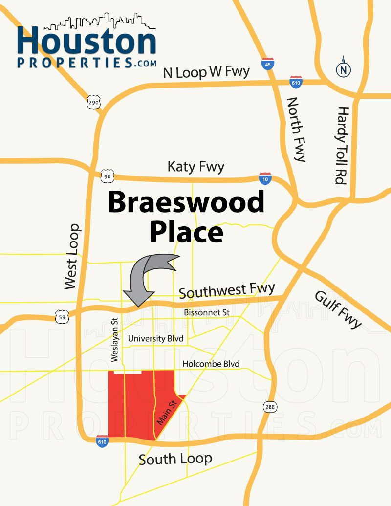 Braeswood Place Houston Tx Real Estate Neighborhood West