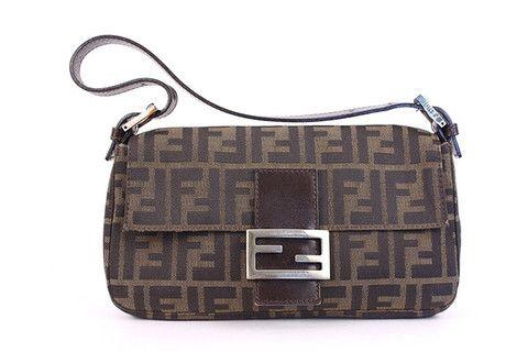 81755866a82d Vintage FENDI Monogram Baguette Bag at Rice and Beans Vintage