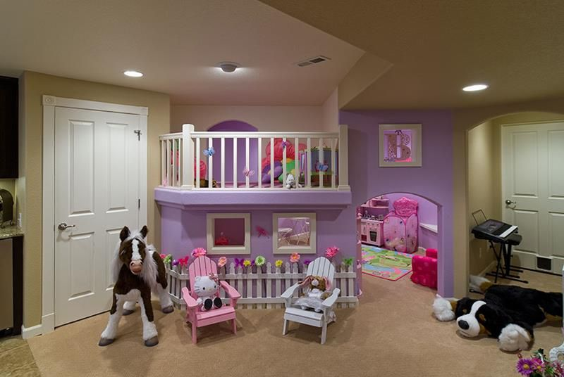 Merveilleux 24 Child Friendly Finished Basement Designs   Page 2 Of 5