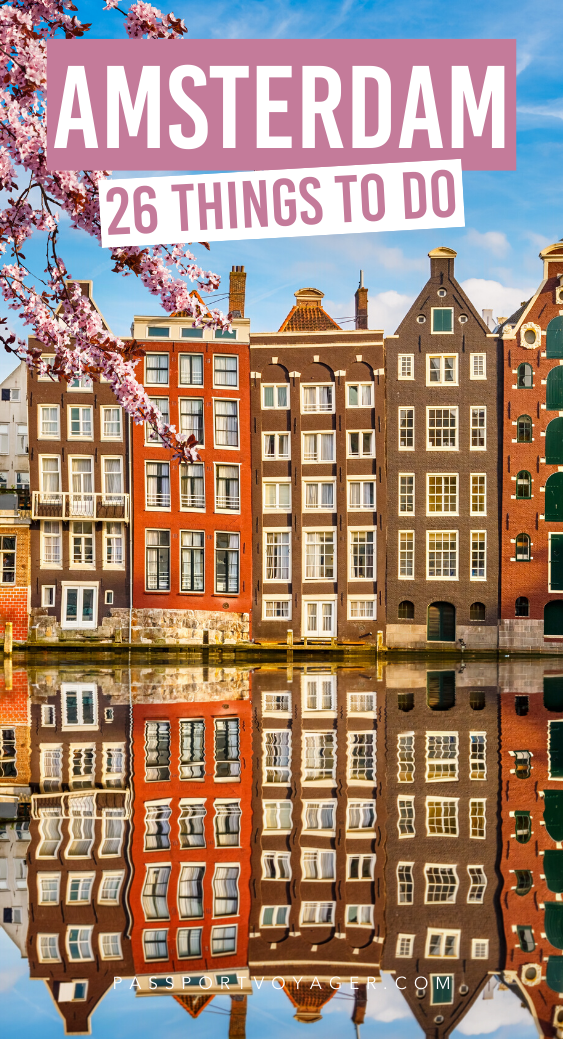 Want to experience Amsterdam without the crazy crowds and high prices? Travel in the off-season! Get ready to explore the best that Amsterdam has to offer with our epic Amsterdam bucket list! Includes where to eat in Amsterdam, where to stay, how to get around the easy way, what to avoid and how to make the most of your next Amsterdam trip. #amsterdam #netherlands #europetravel #amsterdamtravel #bucketlist #thingstodo