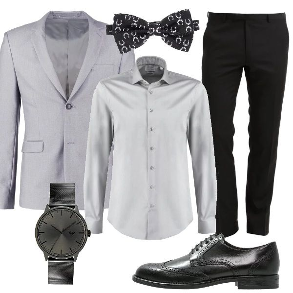 Cerimonia tono su tono: outfit uomo Business/Elegante per cerimonia | Bantoa