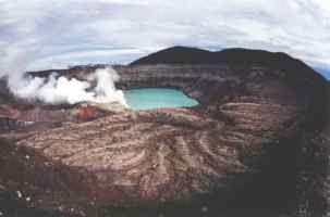 Volcan . Poas