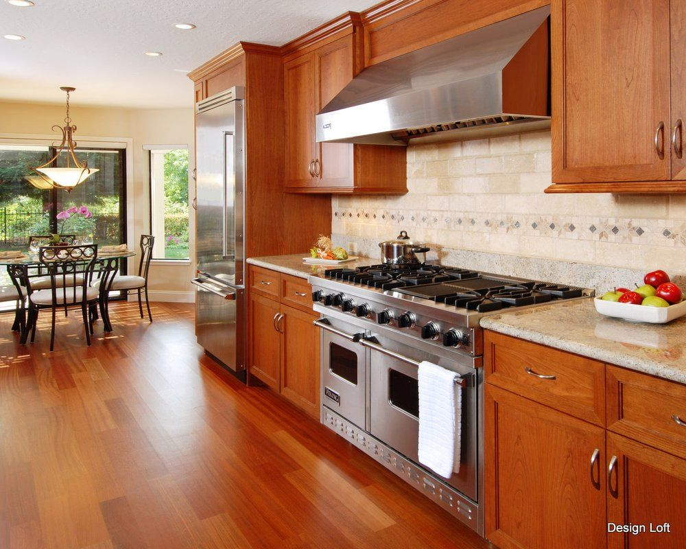 Best Color with Cherry Cabinets | jpg | Kitchen remodel ...