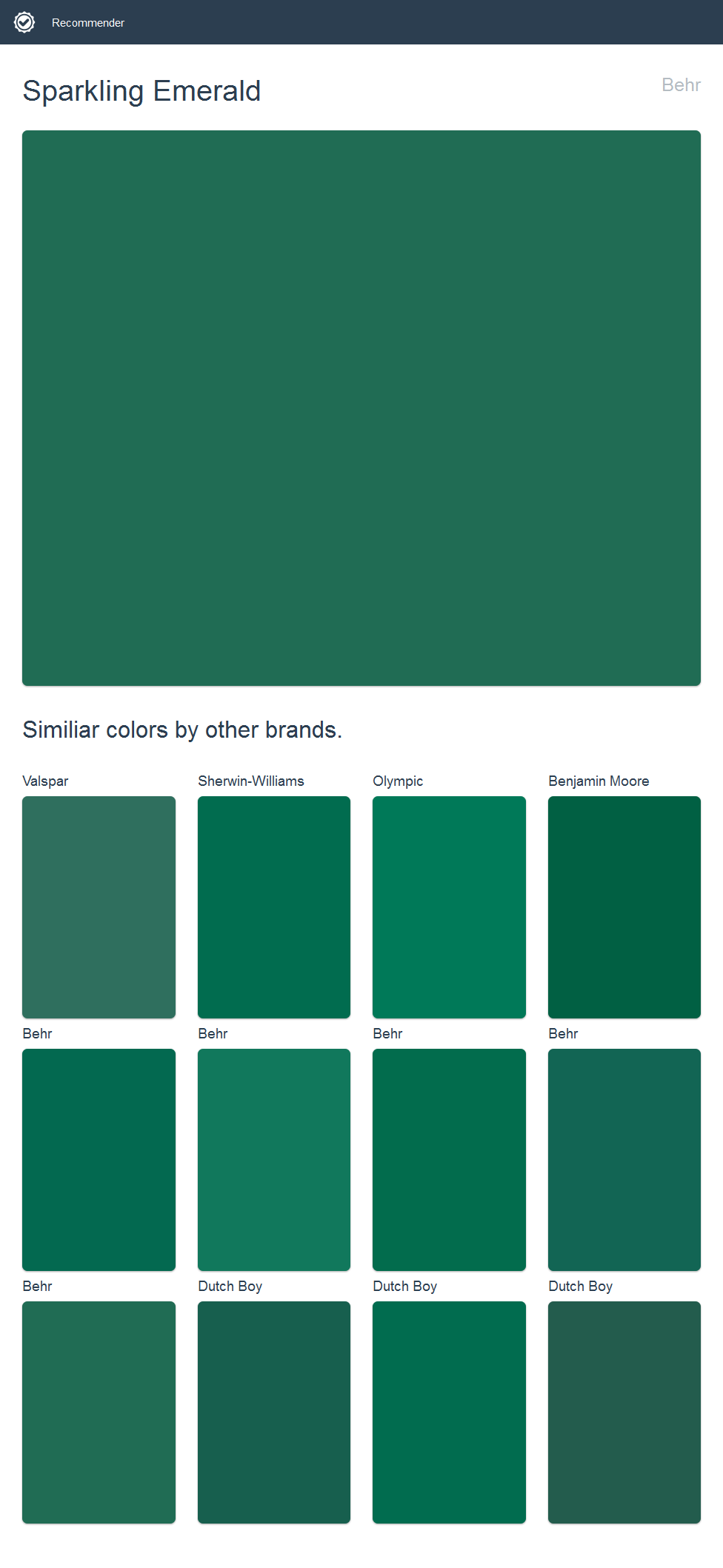 Sparkling emerald behr click the image to see similiar colors by sparkling emerald behr click the image to see similiar colors by other brands nvjuhfo Choice Image