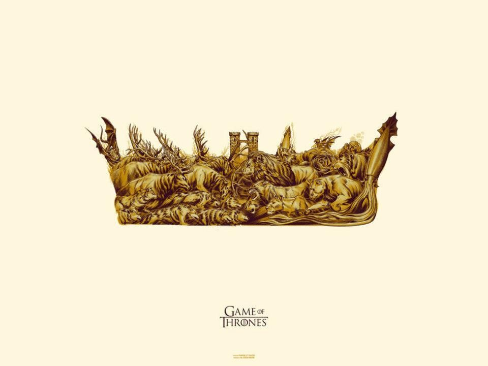 Phantom City Creative — GAME OF THRONES - Gold