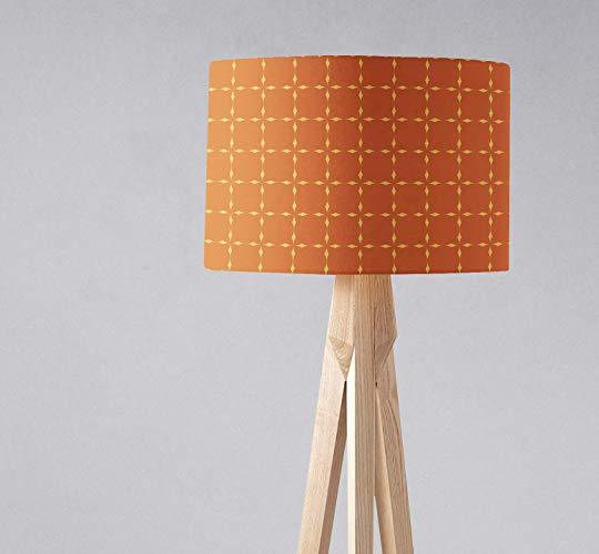 Amazon Com Retro Orange Geometric Lampshade Ceiling Light Shade