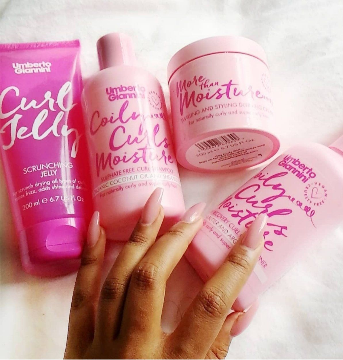 Umberto Giannini Coily Curls Moisture review. Does it
