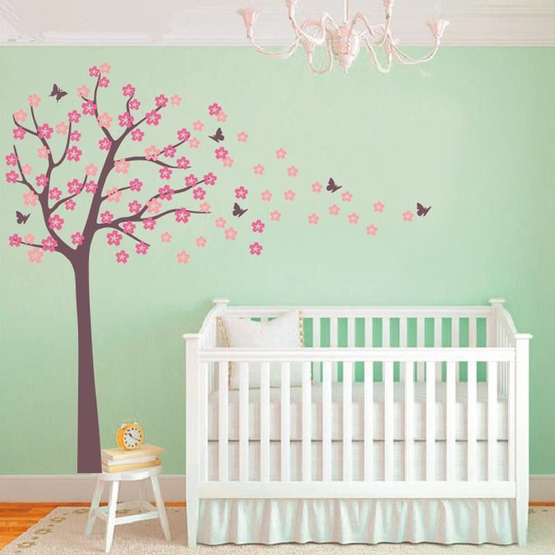 Tree Ing Cherry Blossom Wall Decal