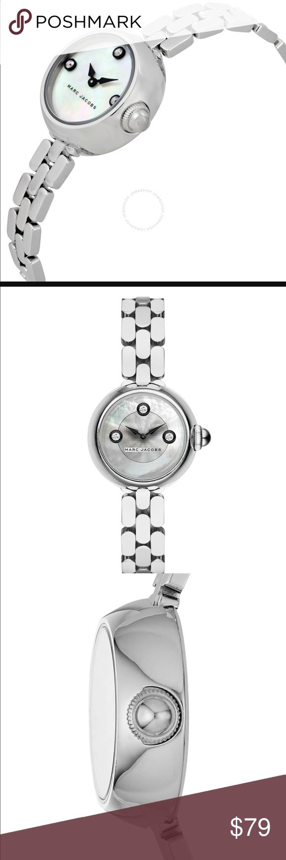 awesome Montre pour femme : MARC BY MARC JACOBS COURTNEY SILVER WOMEN'S  WATCH NWT Case size: 28mm Butte... Check more at http://trends.flashmode.tn/mode/montre-femme/montre-pour-femme-marc-by-marc-jacobs-courtney-silver-womens-watch-nwt-case-size-28mm-butte/