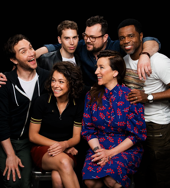 Together We Are One Orphan Black Cast Portraits For Aol