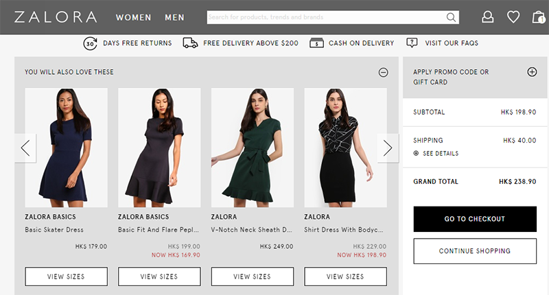 zalora.hk coupons and discount codes