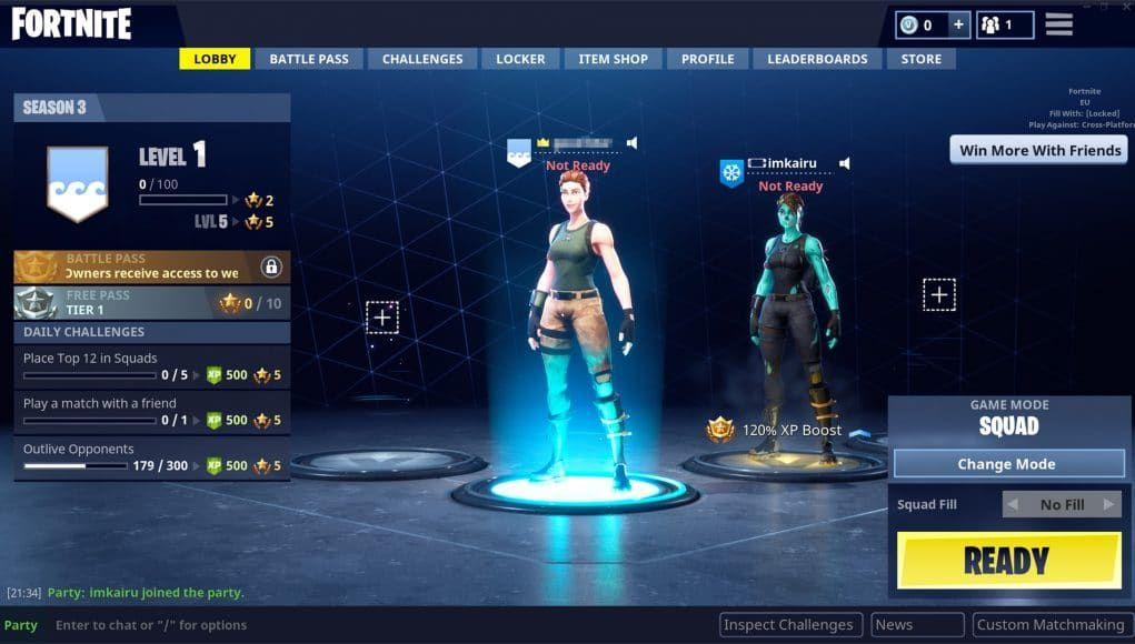 How to custom matchmaking fortnite mobile