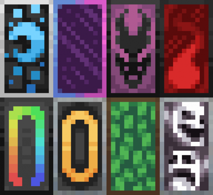How To Design Banners In Minecraft 1 15 In 2020 Minecraft Banner Patterns Minecraft Banner Designs Minecraft Creations